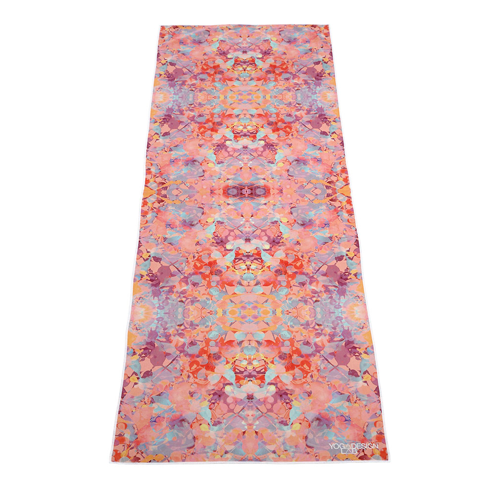 Yoga Design Lab Mat Towel Kaleidoscope