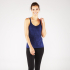 Manduka Cross Strap Cami Blueberry Heather