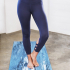 Manduka Cross Back Crop Legging Dusk Blue