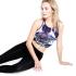Sportovní podprsenka Mandala Ballet Top Roxy Print