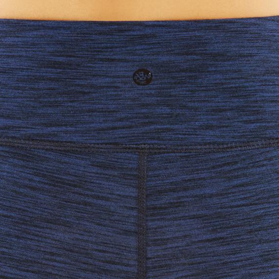 Dlouhé legíny Manduka Essential Legging Blue Melange