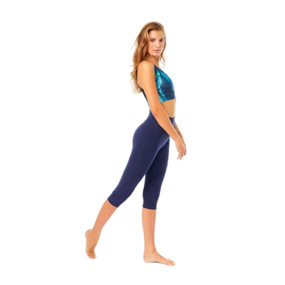 Mandala Knee Length Tights Marine