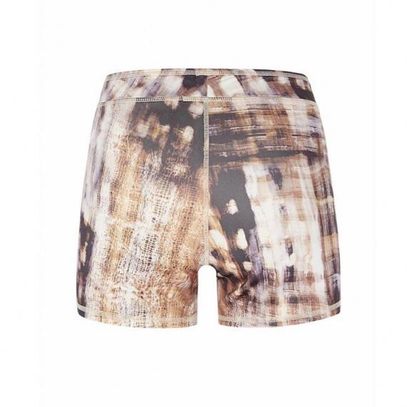 Mandala Printed Shorts Bamboo Forest