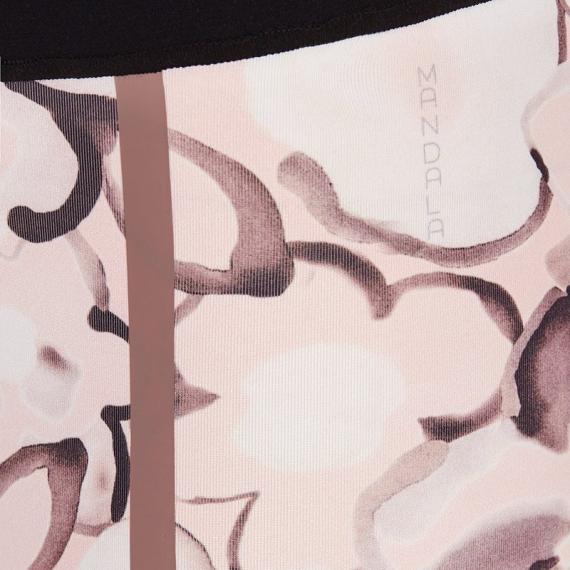 Dlouhé legíny Mandala Printed Tights English Rose