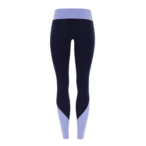 Dlouhé legíny Mandala Color Block Legging Navy/Heather