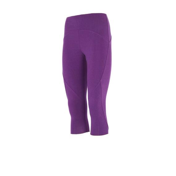 Tříčtvrteční legíny  Mandala Knee Length Tights Purple