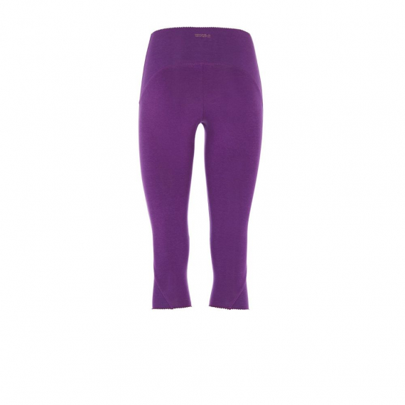 Mandala Knee Length Tights Purple