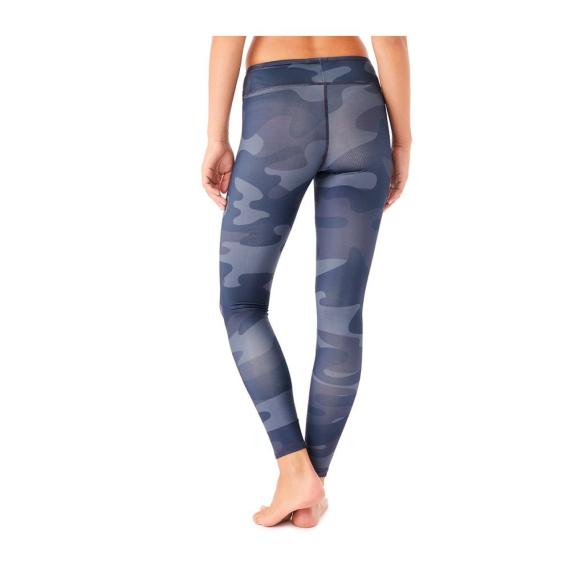 Mandala Printed Tencel Legging Blue Planet