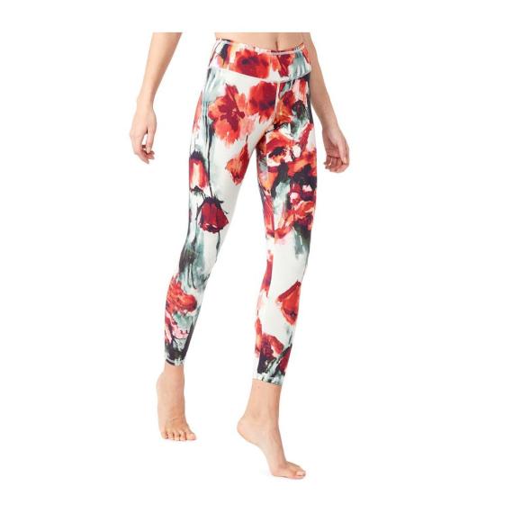 Dlouhé legíny Mandala Fancy Legging Red Poppy