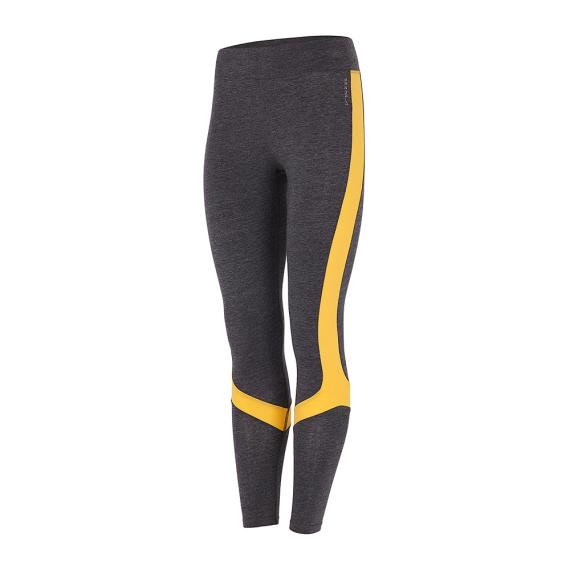 Dlouhé legíny Mandala Athleisure Pants Grey Melange/Mango