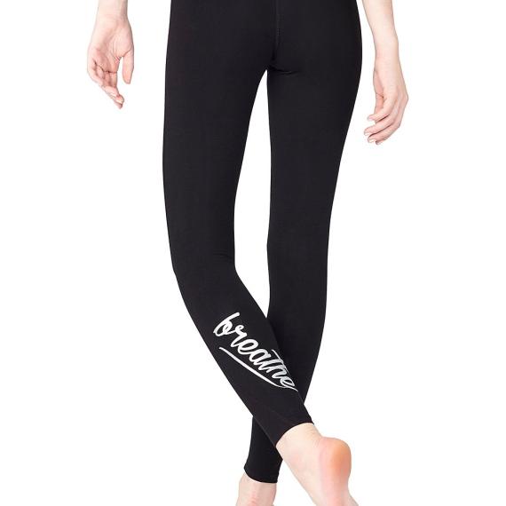 Dlouhé legíny Mandala Lifestyle Legging Black