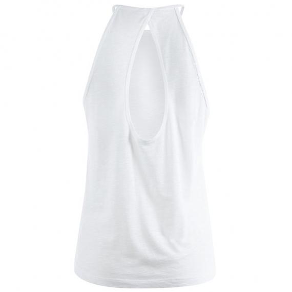 Mandala Neckholder Top White