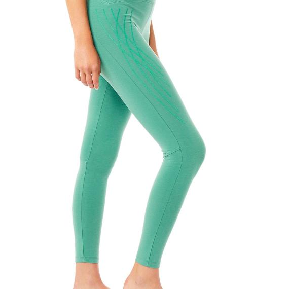 Dlouhé legíny Mandala High Waist Legging with Flock Print Jade