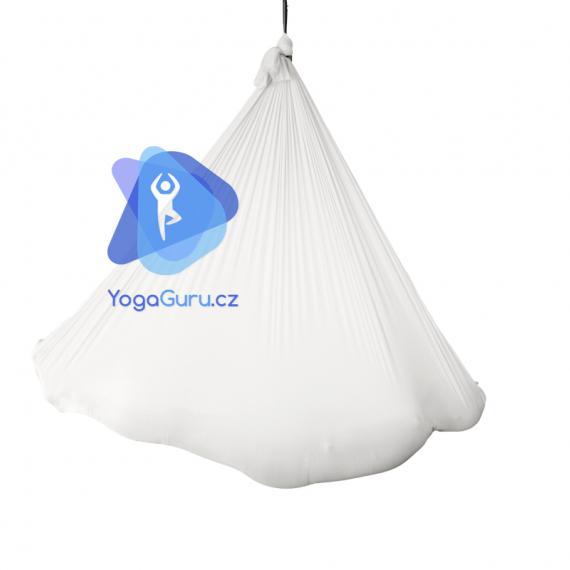 Síť na jógu bílá