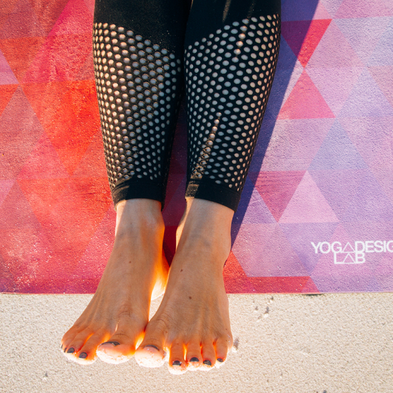 Tribeca Sand Eu: Yoga Design Lab Combo Mat Tribeca Sand