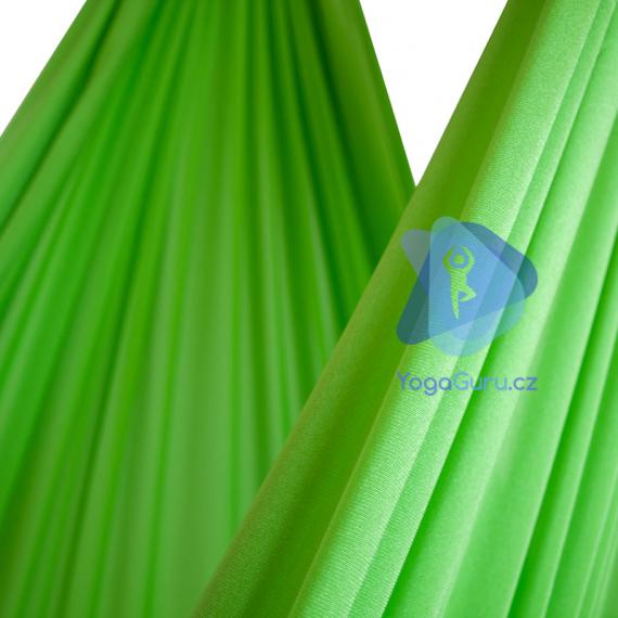 Síť na jógu světle zelená