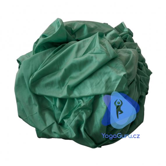 Síť na jógu tmavě zelená