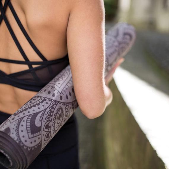 Yoga Design Lab Travel Mat 1,5 mm Mandala Black