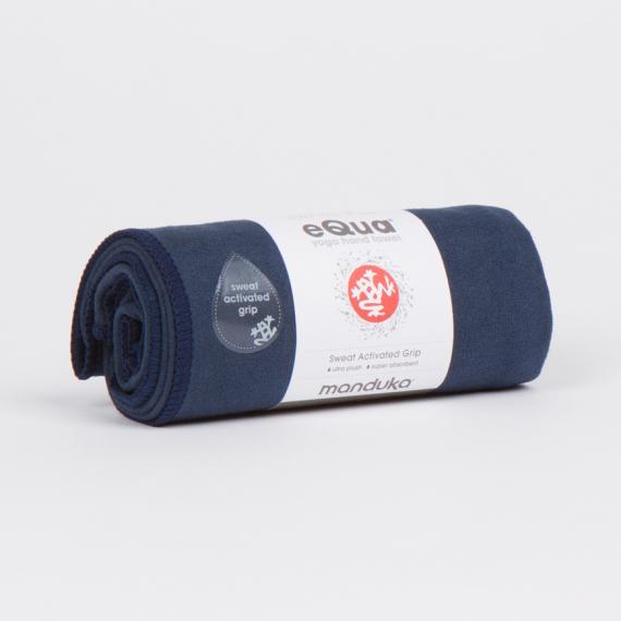 Malý jógový ručník Manduka eQua® Hand Towel Midnight