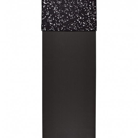 Malý jógový ručník Manduka eQua® Hand Towel Mini Dot Black