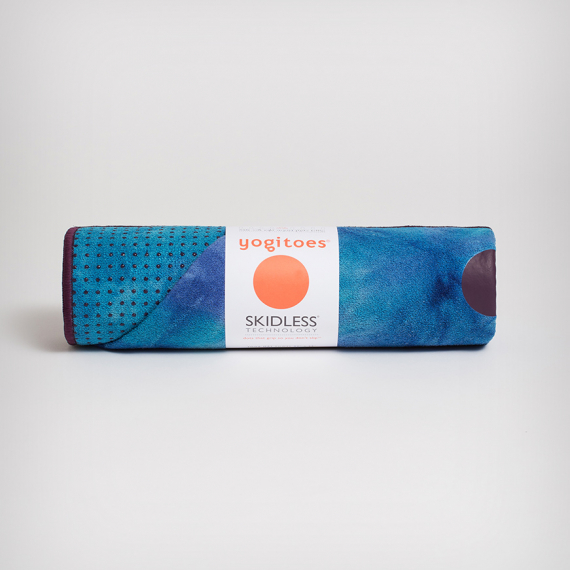 Velký ručník na jógu se silikononovými body Manduka yogitoes® Groovy Playa
