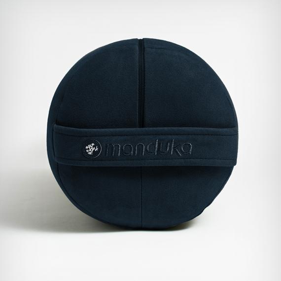 Polštář na jógu Manduka Enlight™ Round Bolster Midnight