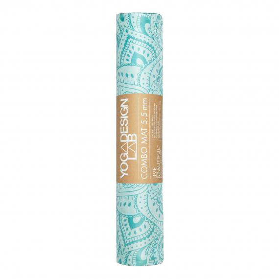 Yoga Design Lab Combo Mat 5,5 mm Mandala Turquoise