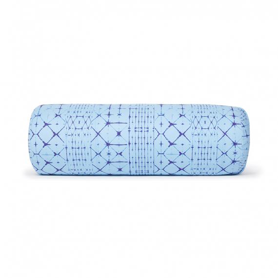 Polštář na jógu Manduka Enlight™ Round Bolster Star Dye Clear Blue