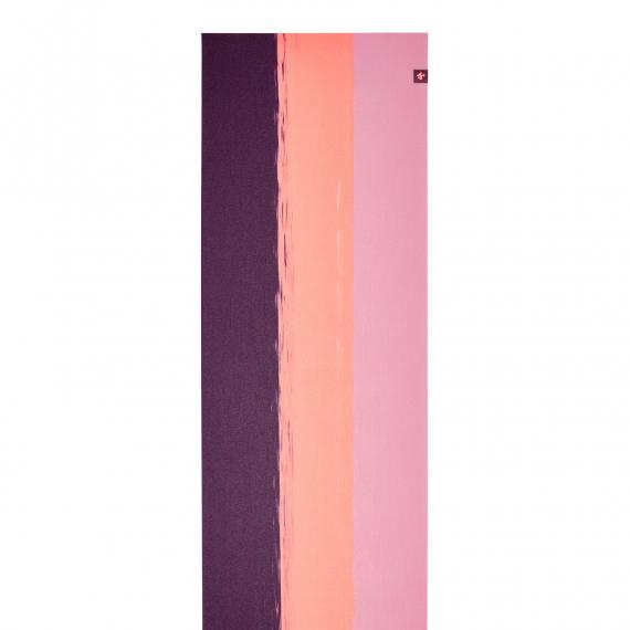 Manduka eKO SuperLite® Travel Mat Fuchsia Stripe