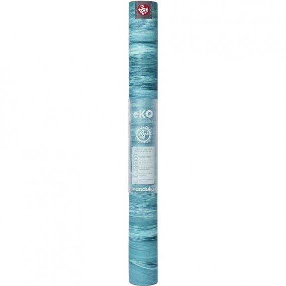 Cestovní jogamatka Manduka eKO SuperLite™ Travel Mat Bondi Blue Marbled 172 cm