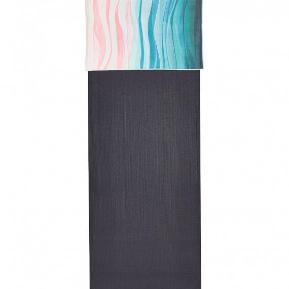 Manduka eQua® Hand Towel Ebb and Flow