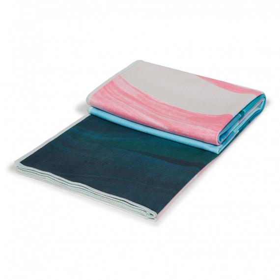 Velký jógový ručník Manduka eQua® Mat Towel Ebb And Flow