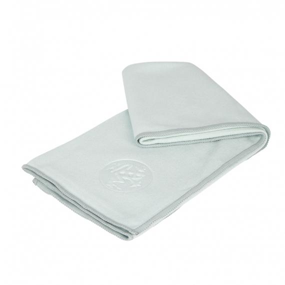 Malý jógový ručník Manduka eQua® Hand Towel Sea Foam