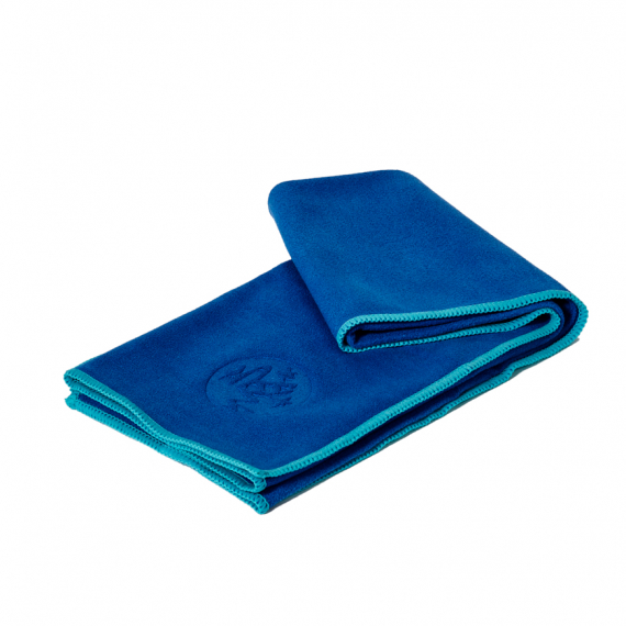 Manduka eQua® Hand Towel Pacific Blue