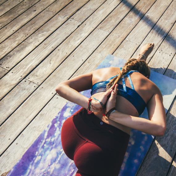 Yoga Design Lab Travel Mat Serenity