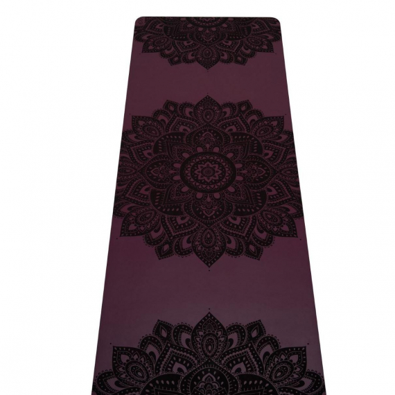 Yoga Design Lab Infinity Mat 5mm Mandala Burgundy