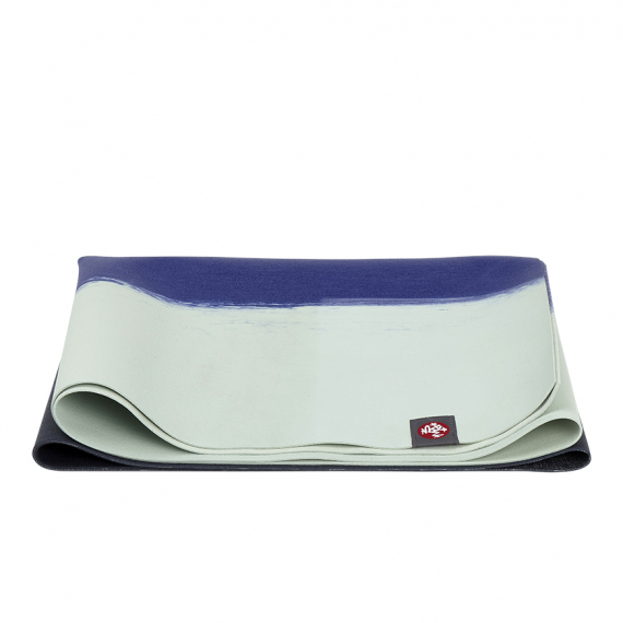 Cestovní jógamatka Manduka eKO SuperLite® Travel Mat Surf Stripe 180 cm