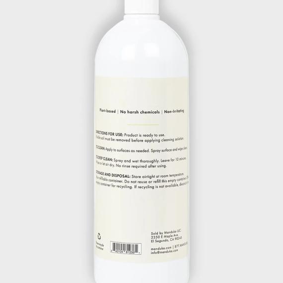 Čistič na jogamatku Manduka Botanical Cleaner 946 ml (32 oz) Citrus