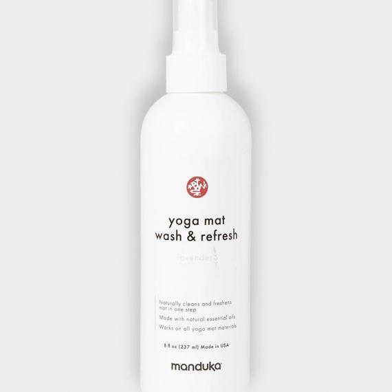 Čistič na jogamatku Manduka Yoga Mat Wash and Refresh 227 ml (8 oz) Lavender/Levandule