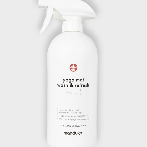 Čistič na jogamatku Manduka Yoga Mat Wash and Refresh 946 ml (32 oz) Lavender/Levandule