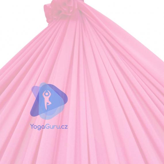 Síť na jógu světle růžová