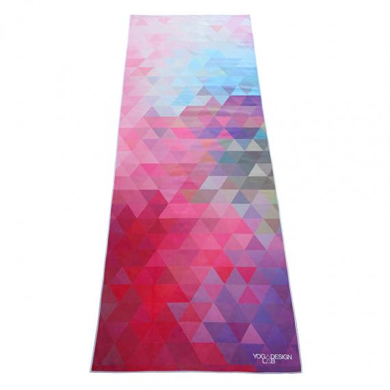 Ručník na jógu Yoga Design Lab Mat Towel Tribeca Sand