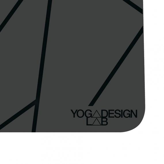 Yoga Design Lab Infinity Mat 5mm Geo Charcoal