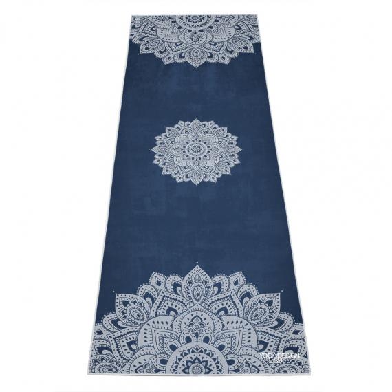 Ručník na jógu Yoga Design Lab Mat Towel Mandala Sapphire