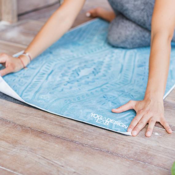 Yoga Design Lab Mat Towel Ikat