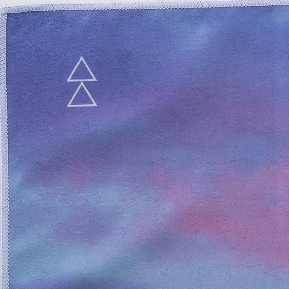 Yoga Design Lab Mat Towel Breathe