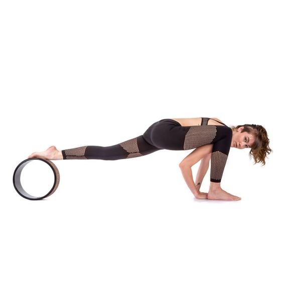 Yoga Design Lab Yoga Wheel Geo Black