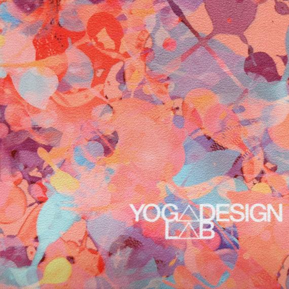 Cestovní designová jogamatka Yoga Design Lab Travel Mat Kaleidoscope