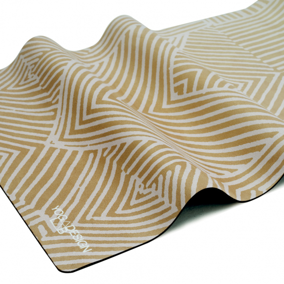 Designová jogamatka Yoga Design Lab Combo Mat 3,5 mm Optical Gold