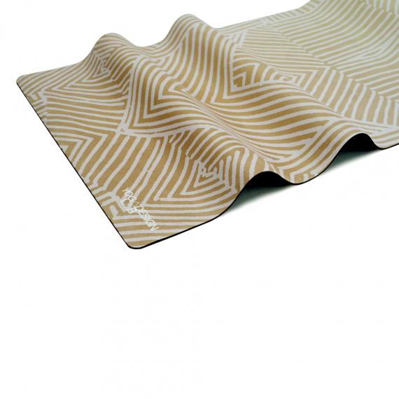 Yoga Design Lab Combo Mat Optical Gold